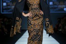 batik gown