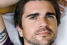 """Juanes /   Raised in Medellín, Colombia, Juanes began playing guitar at age seven. At age 15, He started his first band, Ekhymosis, in 1988, which went on to release five albums, achieving recognition in his native Colombia. The track """"Sólo"""" from the album Niño Gigante in 1992 was very popular. In 1997 after the band broke up, Juanes continued solo and in 2000 he released the album, Fíjate Bien, which earned him three Latin Grammys.  / by Mayra Elisa Portillo"""
