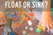Water play activities-project