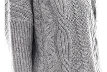 вязаные свитера 2