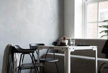Interieur grijstonen
