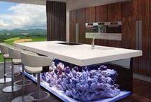 Water features / Interior design