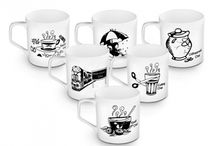 Mugs Delight / Trendsetting sets of mugs to let you have a wonderful experience while having your favourite beverage.
