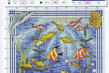 Cross stitch - fishes