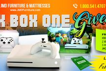 JMD Furniture XBOX One S Giveaway! / JMD Furniture XBOX One S Giveaway STARTS NOW!!! Up for grabs! - 1 - XBOX One S System Minecraft Edition + 2 controllers + 3 Months XBOX Gold membership card + Minecraft Game + $100 JMD Furniture Gift Card! Here is how to participate. - Like our page JMD Furniture - Comment and Guess number between 1-4000 - Share this post.
