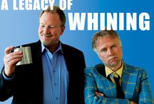 A Legacy of Whining, Ross Munro and Robert David Duncan / The ghosts of both past and present collide as two former highschool friends reunite after 30 years and embark on a darkly humorous nocturnal fever dream of a journey where old emotions and resentments bubble to the surface once again...