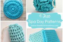 spa day crochet
