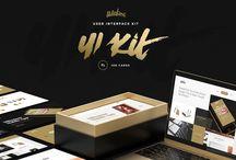 UX & UI Kits on Creative Store / UX & UI Kits on Creative Store