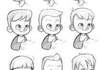 Niños cartoon