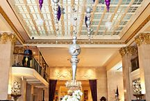Holiday and Christmas Decor at The Historic Mayflower Renaissance Hotel / Celebrating the holiday season at The Mayflower Renaissance Hotel in Washington, DC / by Bergerons Flowers