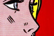 Roy Lichtenstein pop art cartoons
