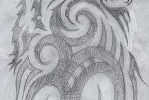 dessin noir et blanc