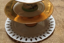 Kageopsatser af limet porcelæn