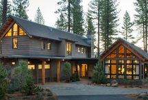 hgtv dream home - lake tahoe! / rustic, meet modern. you all get along just fine I see.