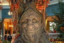 Trees - sculptures