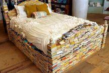 Book furniture / Books as furniture