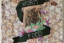 Holly Samson Hall / Textile and mixed-media art by Holly Samson Hall