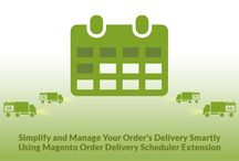 Magento Delivery Date Scheduler / Magento Delivery Date Scheduler extension helps your customers decide the order's/product's delivery dates. This can improve the delivery processes and online orders can be placed on time at particular dates.