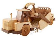 Wood Toys / Clocks / Gears