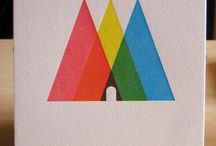 Geometry / Graphic design using geometric shapes