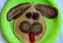 Kid's food / funny, healthy food for kids, from starting solids to teenagers