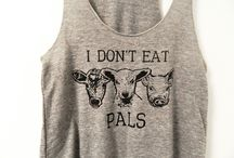 Vegan T-Shirts / Here are some of our favorite #vegan #t-shirts