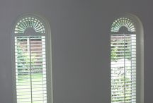Plantation shutters / Stylish and distinctive interior shutters offer a practical alternative to ensuring full privacy and a snug feeling for your home.