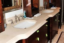TTS Granite Bathrooms / Some of the great work we've done at TTS Granite designing bathroom fixtures and more.