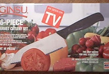 """Classic Ginsu / A blast from the past. Ginsu was made famous for its TV marketing in the 70s, and the tagline """"But wait--there's more!"""" became the common cry of infomercial personalities."""