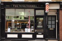 fachadas de  barber
