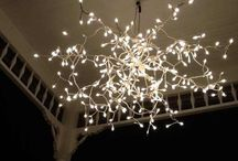 Shine Bright Like a Diamond / Lamps and Lighting, chandaliers, light fixtures / by Melody Simpler