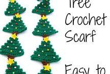Crochet - scarves/shawls