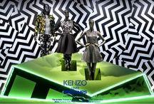 Windows Displays by Kenzo
