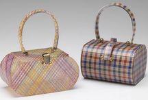 Vintage lucite bags