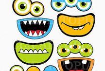 monster.ogen mondjes