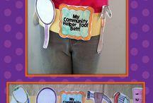 Kindergarten - Community Helpers / by Kinder Teacher