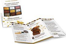 Folders och broschyrer / Anslagstavlan innehåller folders och broschyrer designade av deveen design. Pia de Veen/www.deveendesign.se