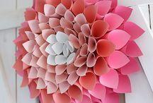 Paper craft / Paper craft, origami etc