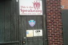 Speakeasy in Bucyrus, Ohio / Photographs of the Speakeasy in Bucyrus, Ohio where Al Capone visited.