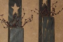 Rustic Wall Decor / Wall decor & art made from 100% recycled Pallet wood