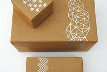 papel pardo / Ideias para realizar com papel pardo  Ideas with craft paper / by Flávia Ferrari