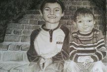 art work-pencil / My art work done in pencil.
