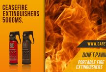 Fire safety / CeaseFire Products are excellent fire fighting equipment, they are vital as fire hazards can be a threat to your life as well your properties. A fire outbreak can happen anywhere and anytime.