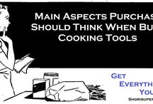 Main Aspects Purchasers Should Think When Buying Cooking Tools