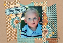 Scrapbooking - 1 photo per page