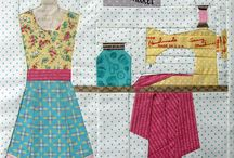 Quilt Swap Inspiration / Things I would like to receive or like to make. / by Tara Cherry