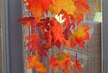 Осенние украшения фотосет