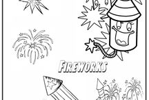 Fireworks Coloring pages / Free online coloring pages free  at : http://magiccolorbook.com/category/fireworks/