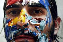 Eloy Morales / Painter Eloy Morales, super realistic portraits