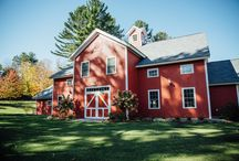 Meredith & Billy / Beautiful Fall Wedding Ceremony and Reception here in Manchester, Vermont in our Event Barn, the Celebration Barn